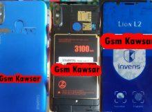 Invens Lion L2 Flash File without password