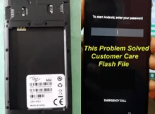 Itel-A52 flash file without password