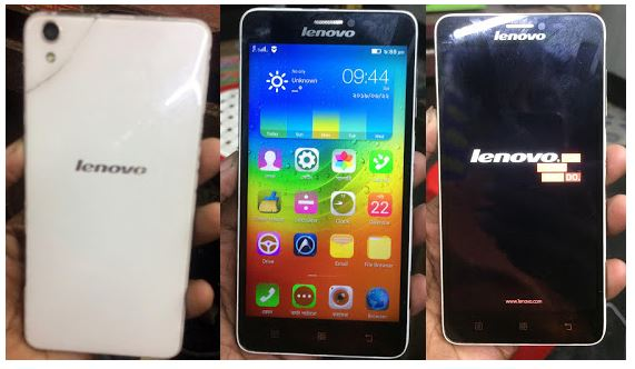 Lenovo S850 flash file without password