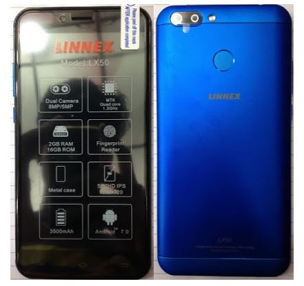 Linnex LX50 Flash File without password