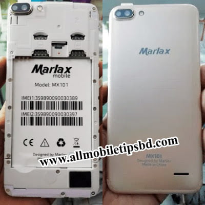MARLAX MX101 FLASH FILE withot password