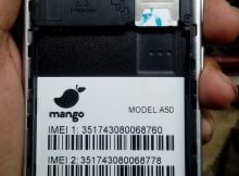 Mango A50 Flash File without password