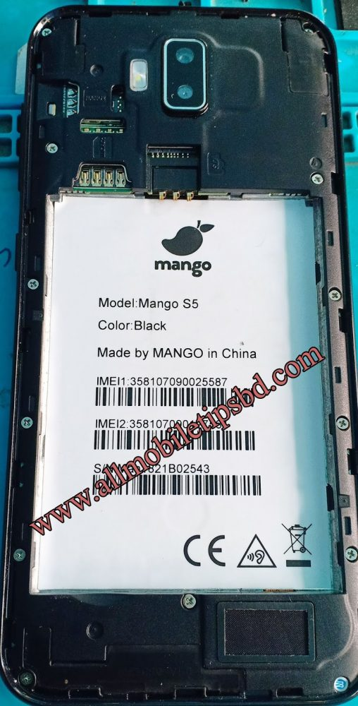 Mango S5 Flash File without password
