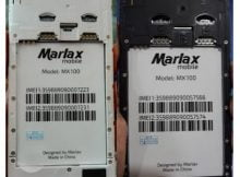 Marlax Mx100 Flash File without password
