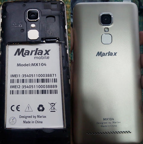 Marlax Mx104 flash file without password