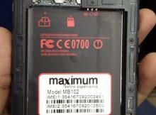 Maximum MB102 Flash File all Version 4