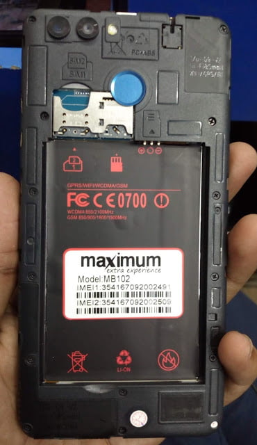 Maximum MB102 Flash File without password