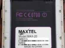 Maxtel Max 20 Flash File Firmware MT6580 8.0 LCD Fix Hang Logo & Dead Recovery Firmware