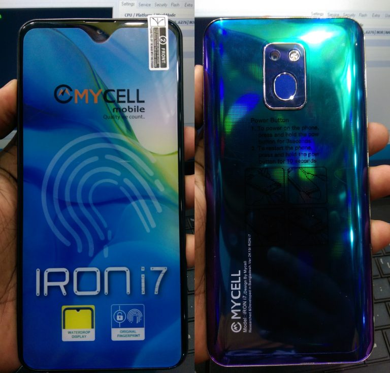 Mycell-iRon-i7-Flash-File-without password