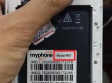 Myphone R51 Flash File without password