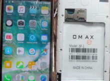 Omax M1 flash file without password