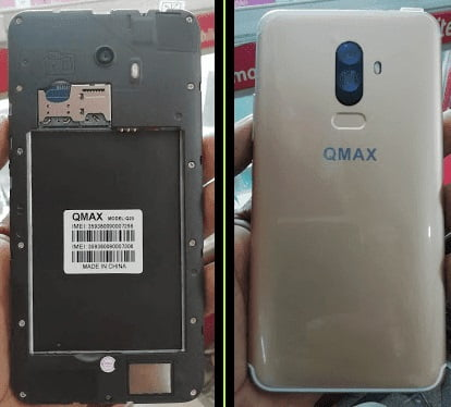Omax Q20 Flash File without password