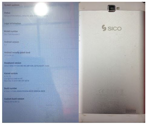 Sico Express 2 Flash File without password