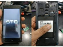 Sto Y6 flash file without password