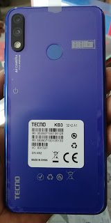 Tecno KB3 Flash File without password
