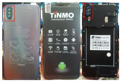 Tinmo B10 Flash File without password