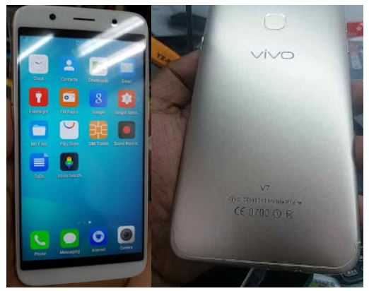 Vivo Clone V7 Flash File without password