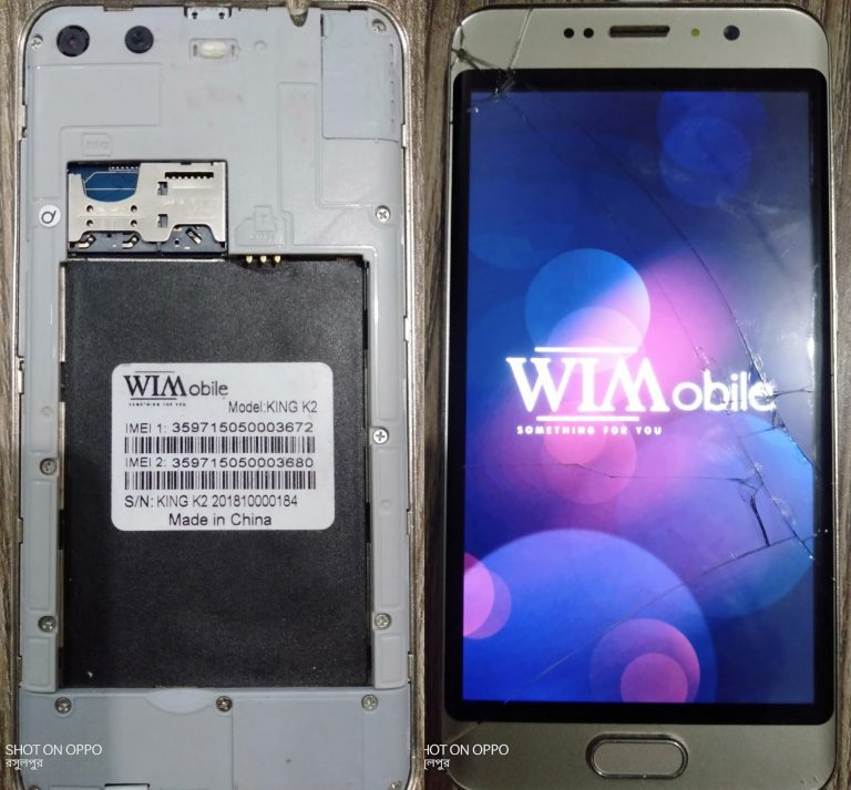 WImobile-King-K2-FLash-File without password