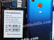 symphony i68 flash file without password