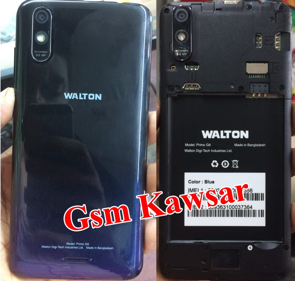 Walton Primo G9 Flash File 3