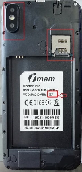 Imam i12 Flash File All Version Firmware 3
