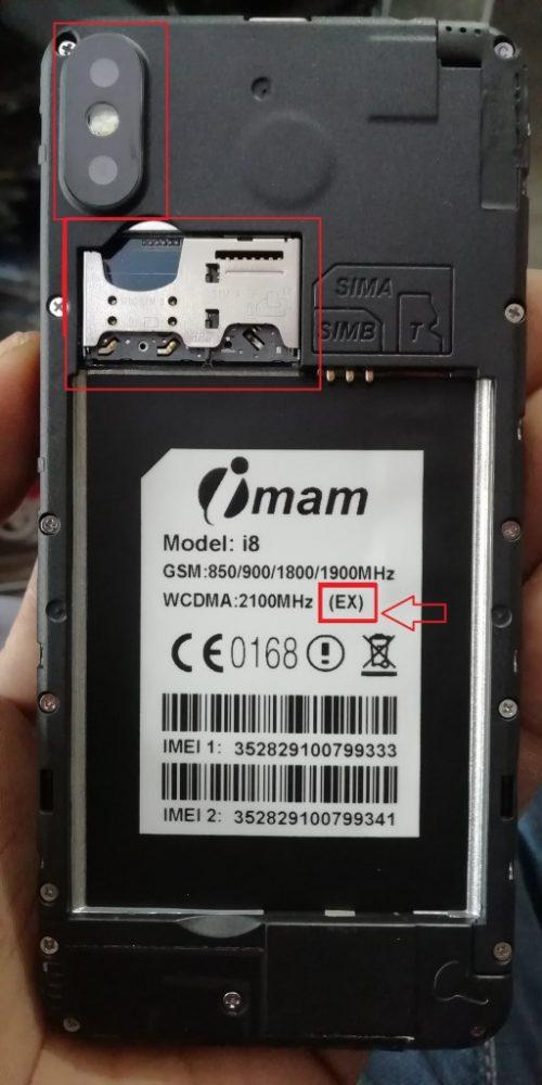 Imam i8 Flash File 6