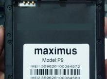 Maximus P9 Flash File 3