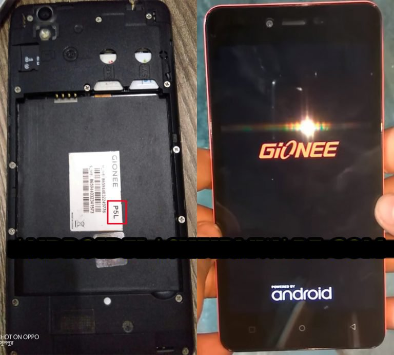Gionee P5L Flash File 3