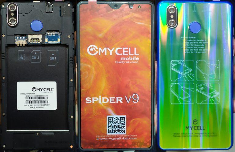 Mycell Spider V9 Flash File 5