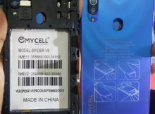 Mycell Spider V9 flash file firmware,