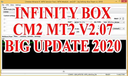 Infinity Box install CM2 MT2 v2.07 Download 3