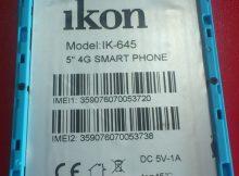 Ikon IK-645 Flash File 1