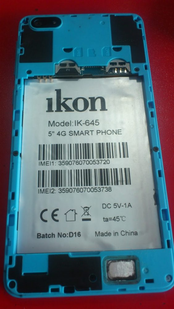 Ikon IK-645 Flash File 3