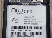 Nuu A3 Flash File 1
