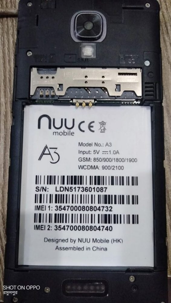 Nuu A3 Flash File 3