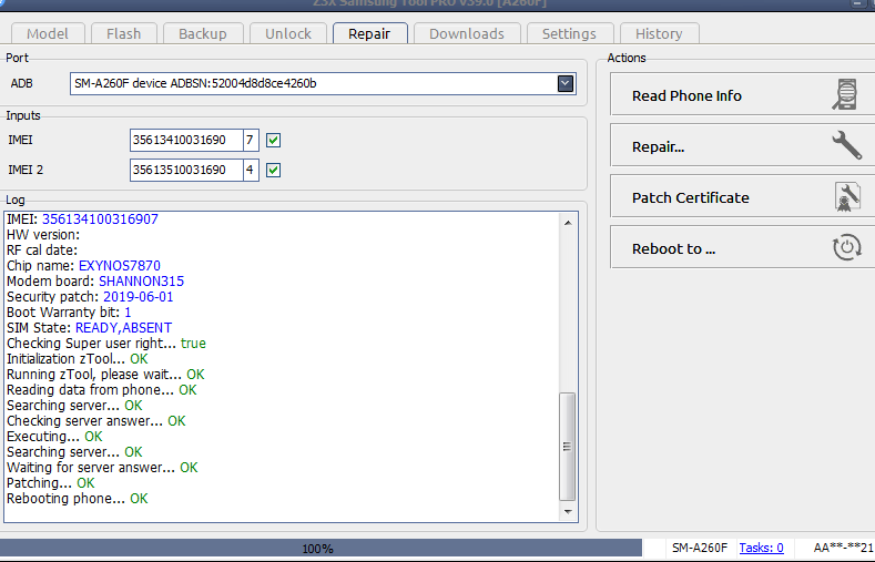 Samsung A260F EFS File 3