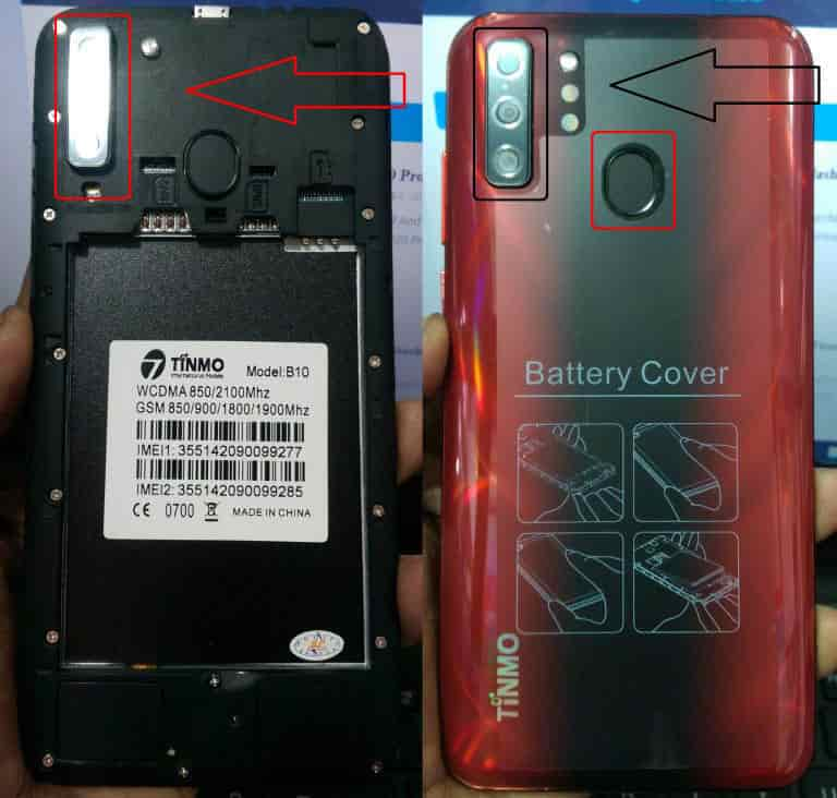 Tinmo-B10-flash file firmware