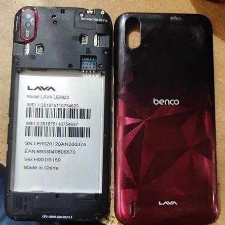 Lava Z53 LE9920 flash file firmware,