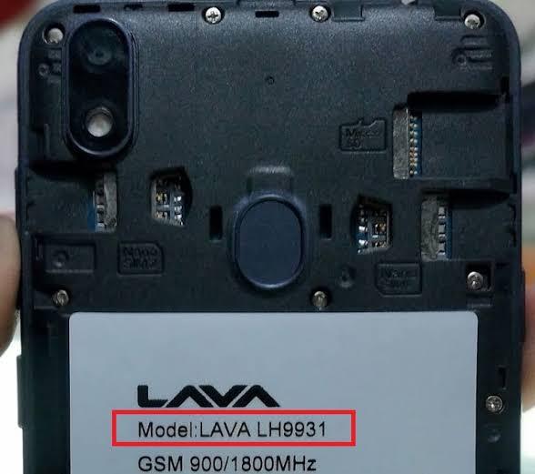 Lava iris 54 Flash File LH9931 3