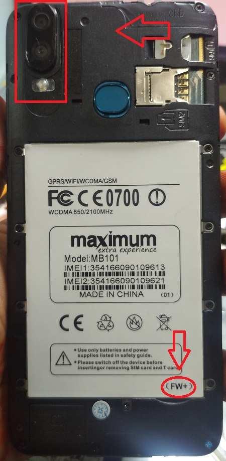 Maximum MB101 flash file firmware,