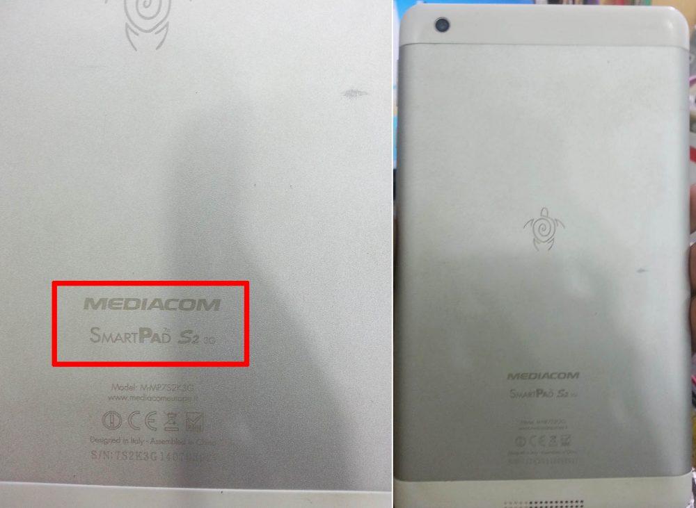Mediacom SmartPad S2 3G flash file