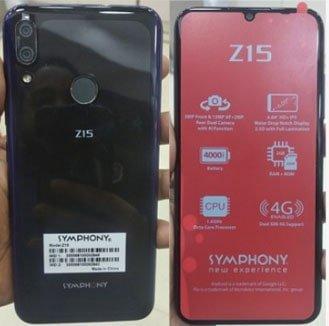 Symphony Z15 flash file firmware,