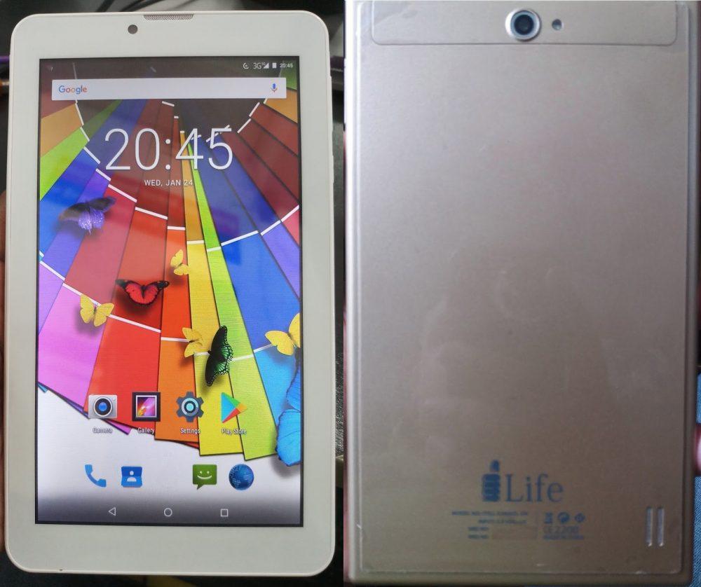 iLife Itell K3400SL GN Flash File Tab 3
