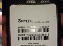 Mycell Alien SX4 Vpro Flash File 1
