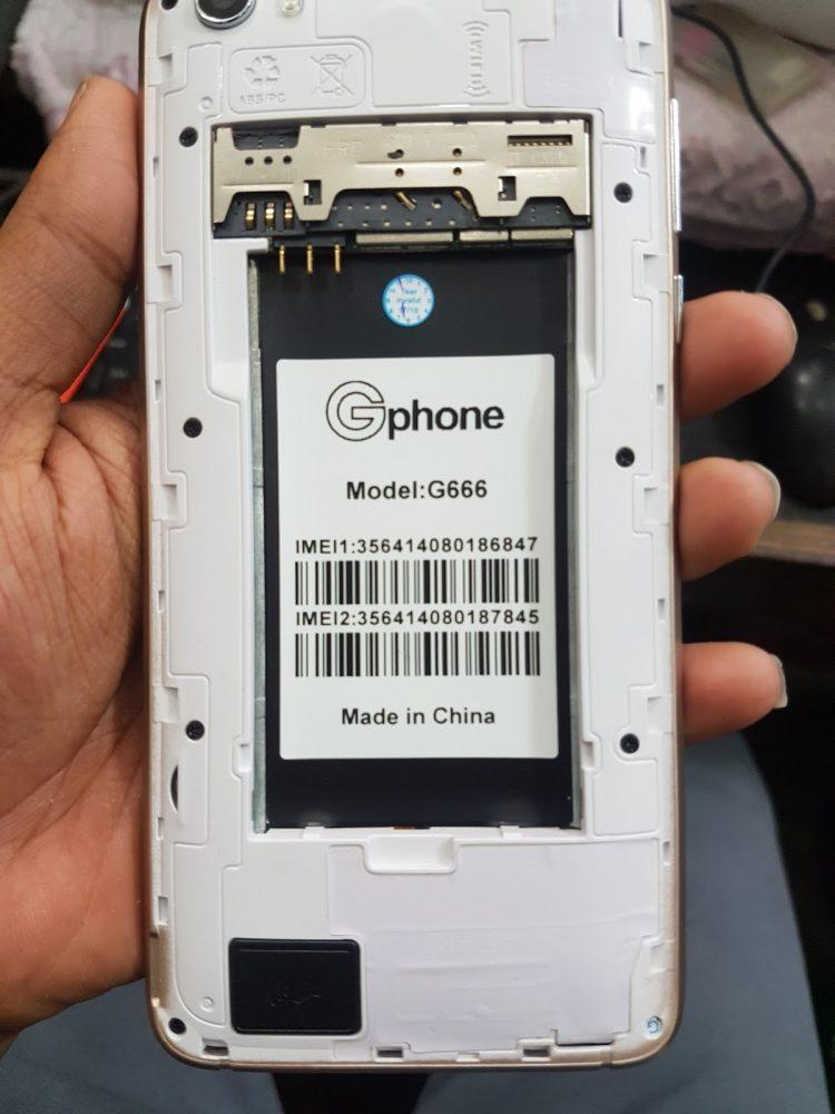 Gphone G666 Flash File 3
