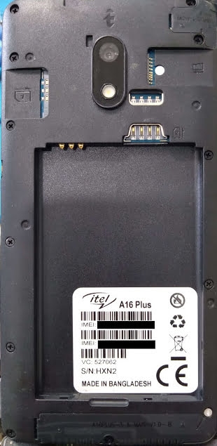 Itel A16 Plus Flash File 10Q Android Version Firmware 3
