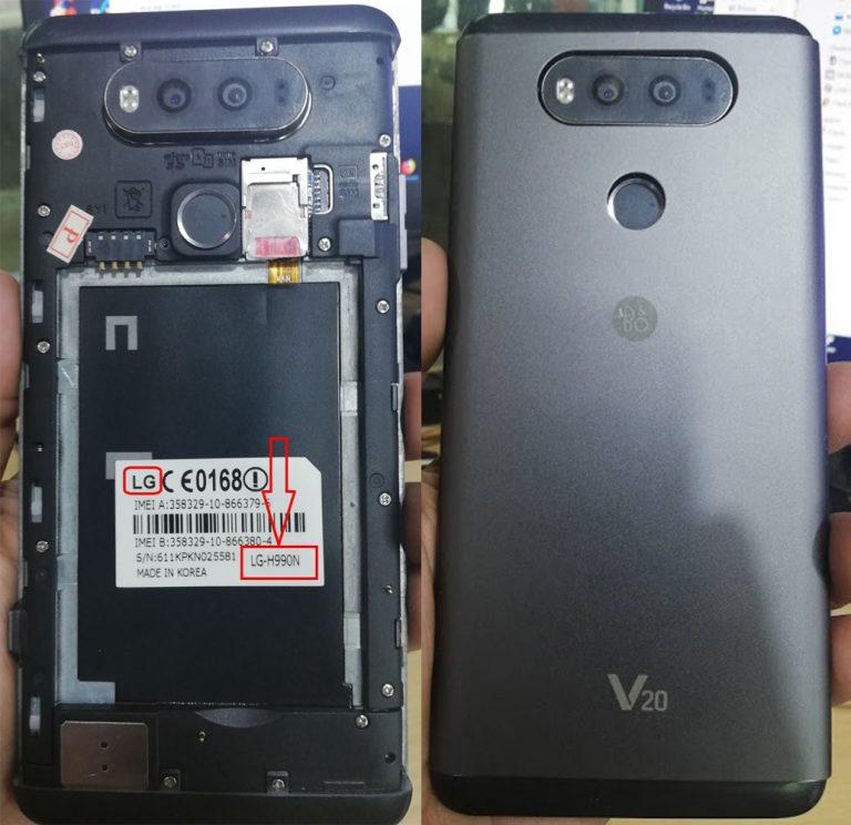 LG Clone LG-H990N (V20) Flash File 3