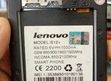 Lenovo Clone S12 Flash file