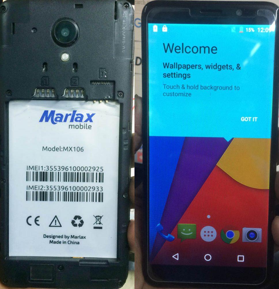 Marlax MX-106 Flash File 3