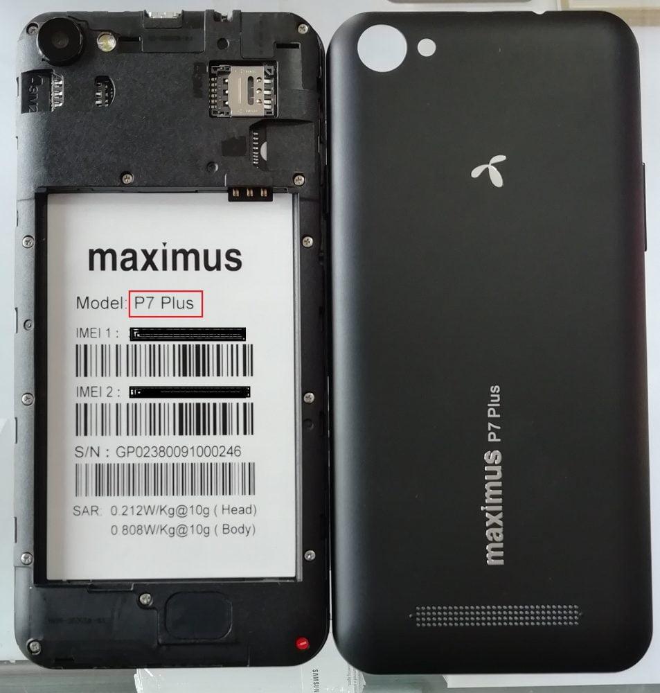 Maximus P7 Plus Flash File 3